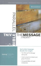 Message Remix & TNIV Parallel Bible Hardcover - Slightly Imperfect