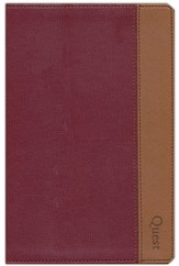 NIV Quest Study Bible, Burgundy/Tan Duo-tone  1984