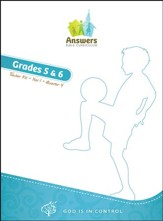 Answers Bible Curriculum: God Is in Control Grades 5&6 Teacher's Kit Year 1 Quarter 4