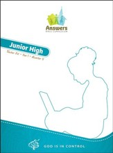 Answers Bible Curriculum: God Is in Control Junior High Teacher's Kit Year 1 Quarter 4