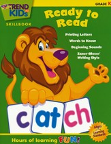 TREND for KIDs, Kindergarten Ready to Read Skillbook