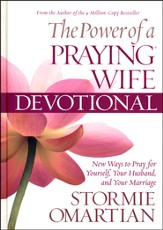 The Power of a Praying Wife Devotional, Deluxe Edition (slightly imperfect)