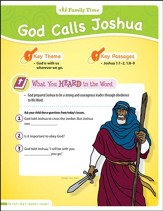 Answers Bible Curriculum: Obedience & Disobedience Preschool & Kindergarten Take Home Sheets (Year 2 Q1)