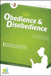Answers Bible Curriculum: Obedience & Disobedience  Jr. High Student Guide (Year 2 Quarter 1)