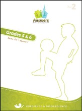 Answers Bible Curriculum Year 2 Quarter 1 Grades 5-6 Teacher Kit