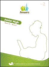 Answers Bible Curriculum Year 2 Quarter 1 Jr. High Teacher Kit