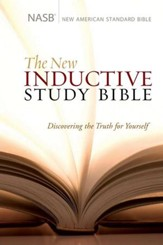 The NASB New Inductive Study Bible, Hardcover - Slightly Imperfect