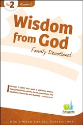 Answers Bible Curriculum Year 2 Quarter 2 Family Devotional Book