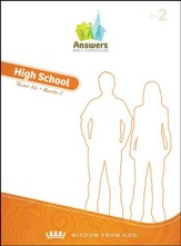 Answers Bible Curriculum Year 2 Quarter 2 High School Teacher Kit