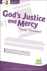 Answers Bible Curriculum: God's Justice & Mercy Family Devotional Book (Year 2 Quarter 3)