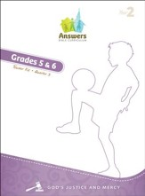 Answers Bible Curriculum: God's Justice & Mercy Grades 5-6 Teacher Kit (Year 2 Quarter 3)
