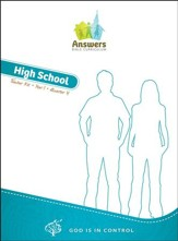 Answers Bible Curriculum: God Is in Control High School Teacher's Kit Year 1 Quarter 4