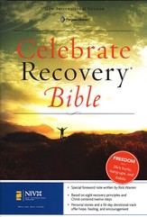 NIV Celebrate Recovery Bible, Hardcover 1984