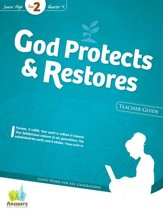Answers Bible Curriculum: God Protects & Restores Jr. High Teacher Guide with DVD-ROM (Year 2 Quarter 4)