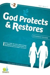 Answers Bible Curriculum: God Protects & Restores Adult Student Guide (Year 2 Quarter 4)