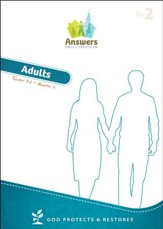Answers Bible Curriculum: God Protects & Restores Adult Teacher Kit (Year 2 Quarter 4)