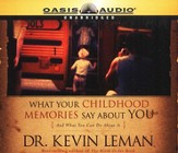 What Your Childhood Memories Say - audiobook on CD