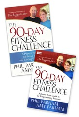 90-Day Fitness Challenge, Book & DVD