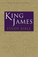 KJV Zondervan Study Bible Personal Size, Softcover