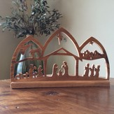 Nativity Tabletop Scene, Large