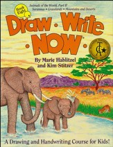 Draw Write Now, Book 8: Savannas, Grasslands, Mountains & Deserts