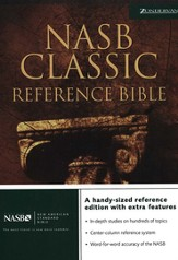 NAS Classic Reference Bible, Hardcover