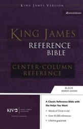 KJV Reference, Imitation Leather Black