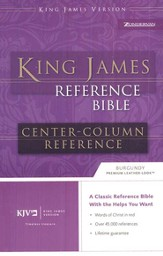 KJV Reference, Imitation Leather Burgundy