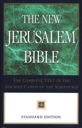 The New Jerusalem Bible, Standard Edition, Hardcover - Imperfectly Imprinted Bibles
