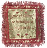 Blessing Pillow Cover, Spanish