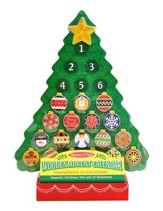 Wooden Advent Calendar Christmas Tree