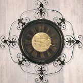 Give Thanks, Metal Wall Clock