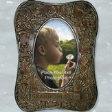 Metal Photo Frame, Grandchildren