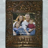 Metal Photo Frame, Family; God's Masterpiece