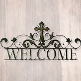 Welcome Metal Wall Hanging