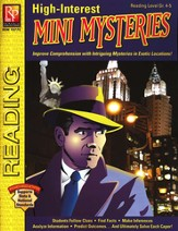 High-Interest Mini Mysteries Reading Level Gr. 4-5