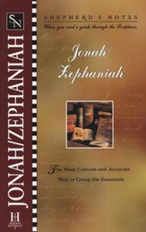 Shepherd's Notes:  Jonah-Zephaniah