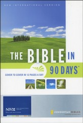 The Bible in 90 Days NIV - Slightly Imperfect
