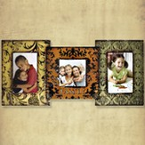 Family Metal Photo Frame