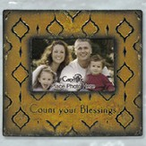 Count Your Blessings Metal Photo Frame