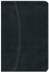 NIV Life Application Study Bible--European bonded leather, black/black 1984