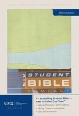 NIV 1984 Student Bible Compact Melon/Blue