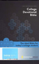 TNIV College Devotional Bible, Hardcover - Slightly Imperfect