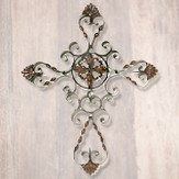 Iron Wall Cross
