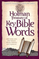 The Holman Treasury of Key Bible Words