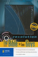NIV Revolution: The Bible for Teen Guys, Case of 12