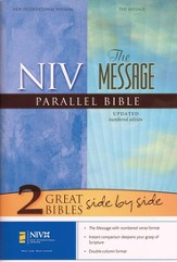 NIV (1984)/The Message Parallel Bible, hardcover (slightly imperfect)