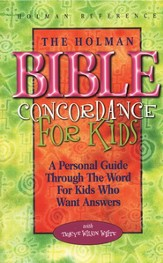 Holman Bible Concordance for Children  - Slightly Imperfect