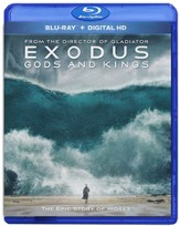 Exodus: Gods and Kings, Blu-Ray/Digital HD