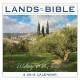 Lands of the Bible--2014 Wall Calendar